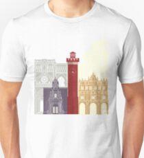 Cuenca skyline poster  Unisex T-Shirt
