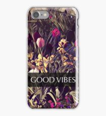 Good Vibes Floral iPhone Case/Skin
