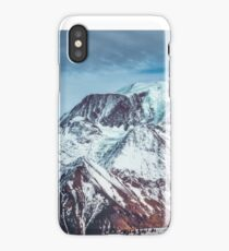 Glaciers on the top iPhone Case/Skin