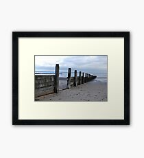 Tidal Defences Framed Print