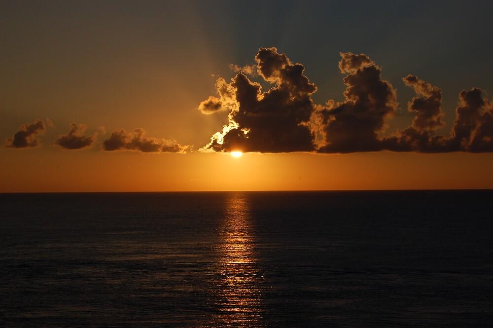 Caribbean Sunset by sandrab