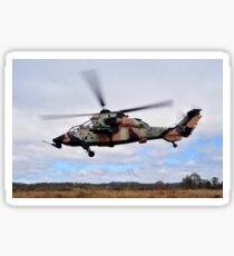 An Australian Army Tiger helicopter flies a reconnaissance mission. Sticker