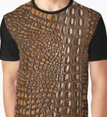 Aligator Crocodile Snake skin | texture  Graphic T-Shirt