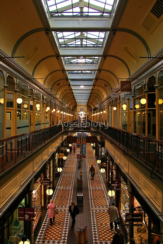 Adelaide Arcade. by Aussiebluey