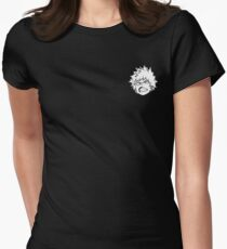 blasty mcsplode Womens Fitted T-Shirt
