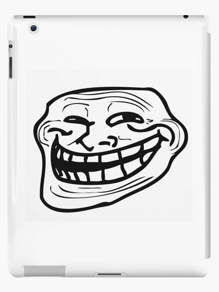 Troll Face Meme Memes Coolface Problem Ipad Cases Skins By