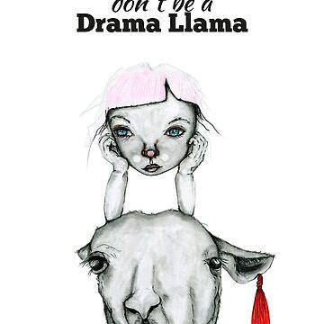 Drama Llama by SandraBurger
