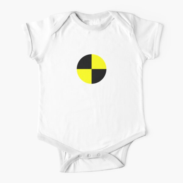 safety pattern Short Sleeve Baby One-Piece