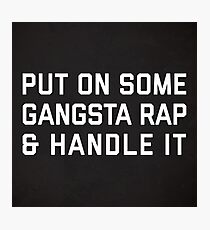 Funny Rap Quotes Wall Art | Redbubble