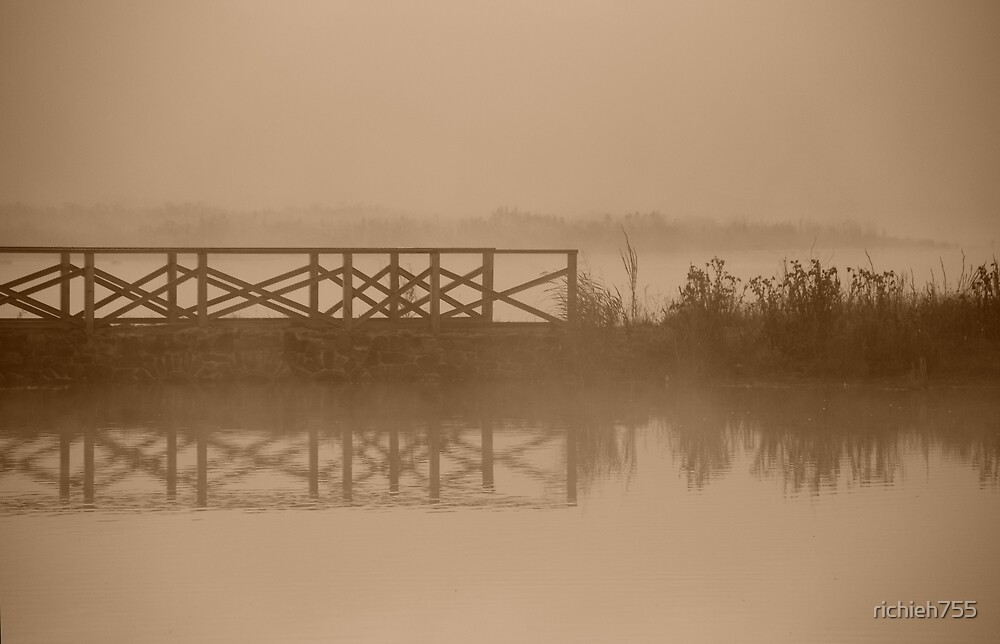 Bridge In Mist by richieh755