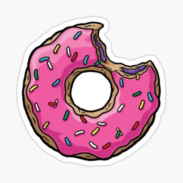 Donut rose Sticker
