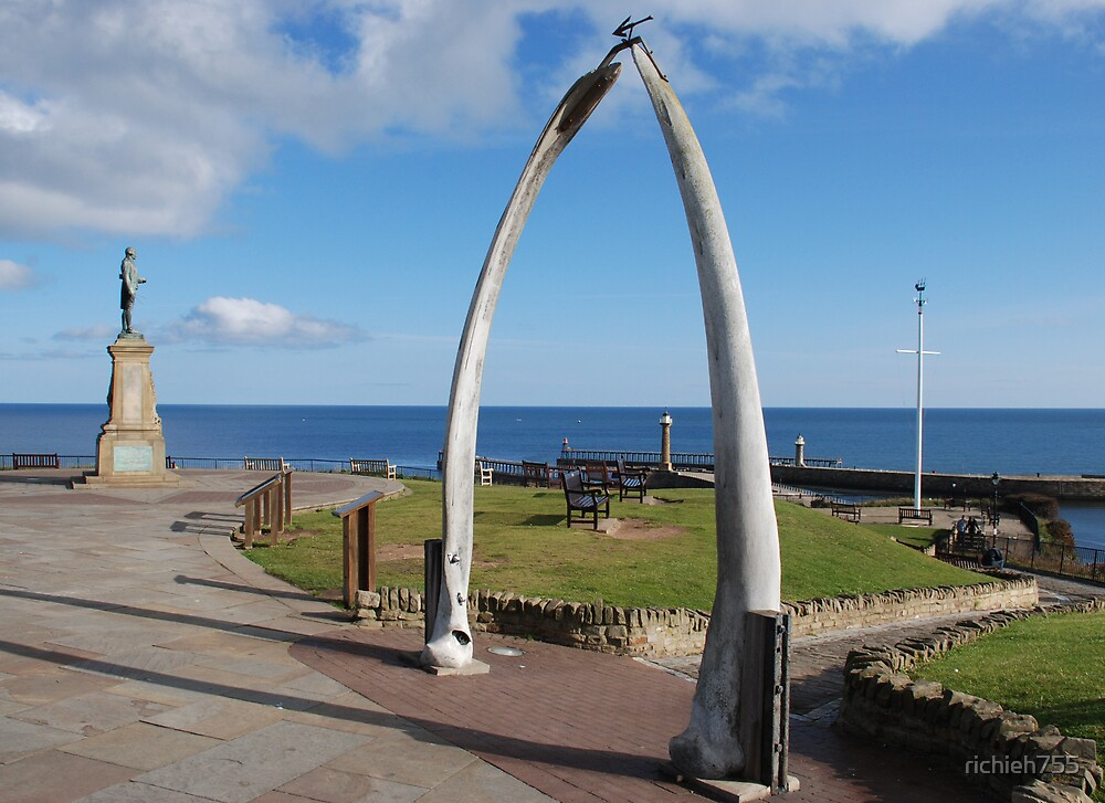 Whalebone Whitby and Captain Cook by richieh755