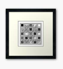Postmodernism 03 Framed Print