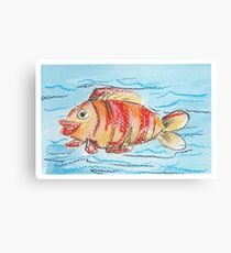 Happy Fish Canvas Print