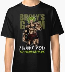 I WANT YOU TO TRAIN WITH ME - Broly's GYM Classic T-Shirt