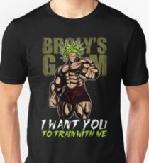 I WANT YOU TO TRAIN WITH ME - Broly's GYM Unisex T-Shirt