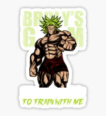I WANT YOU TO TRAIN WITH ME - Broly's GYM Sticker