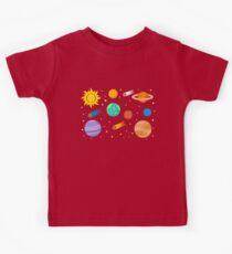 Planets, Sun and Stars Kids Tee