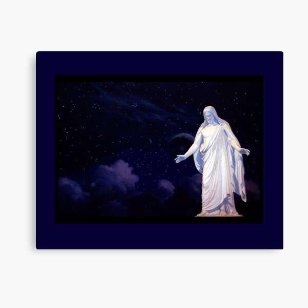 Jesus Christ - Christus Statue Canvas Print
