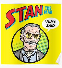 Stan the Man - 'Nuff Said! Poster