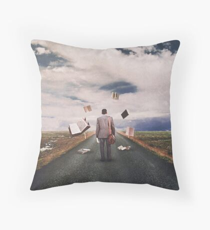 The Illusion Of Reality Throw Pillow