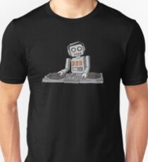 Robot DJ - T-shirt Unisex T-Shirt