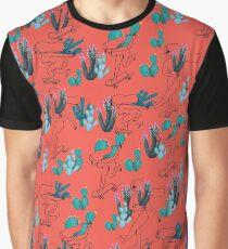 Picking Cactus Graphic T-Shirt