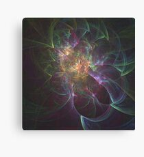 Lazy Paint Splatters | Fractal Art Canvas Print