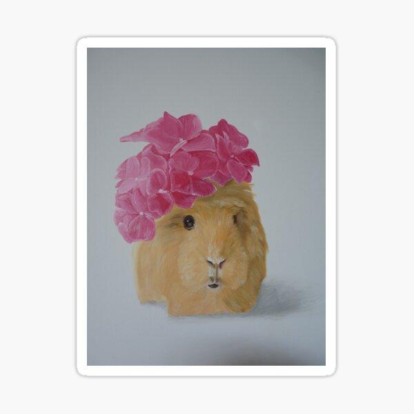 Princess guinea  Sticker