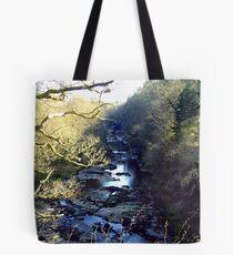 Lanarkshire Burn Tote Bag