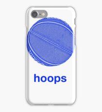 hoops iPhone Case/Skin