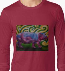 Sassy Hippo Long Sleeve T-Shirt