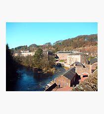 New Lanark Photographic Print
