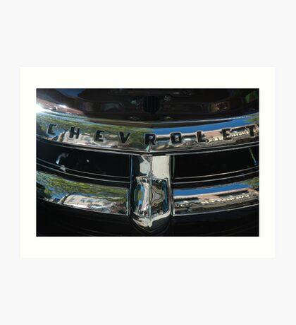 Chevrolet ll Art Print