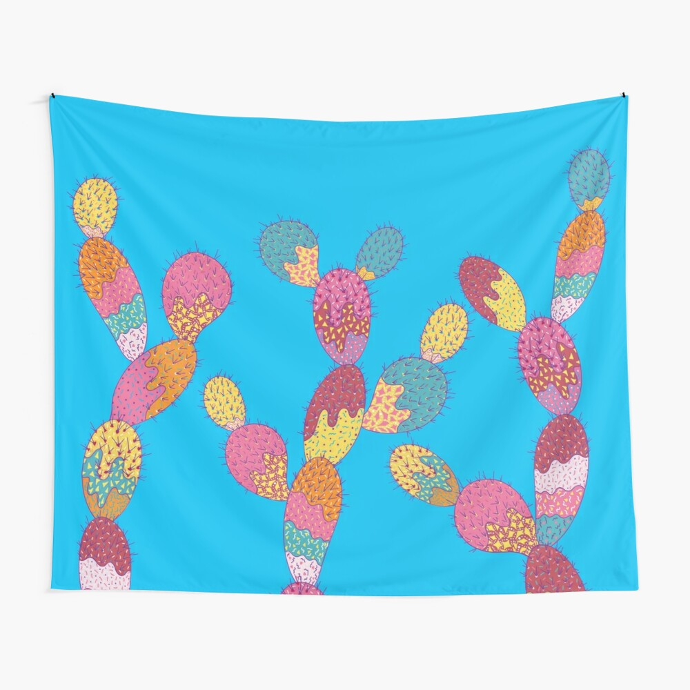 Summer Succulent Wall Tapestry