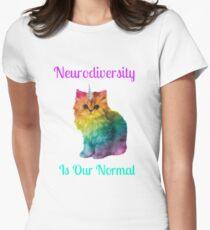Neurodiversity Is Normal Women's Fitted T-Shirt