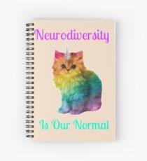 Neurodiversity Is Normal Spiral Notebook