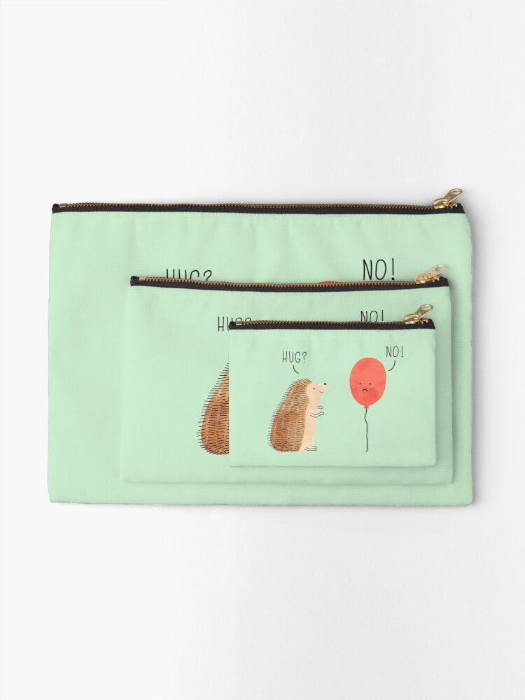 Alternate view of impossible love Zipper Pouch