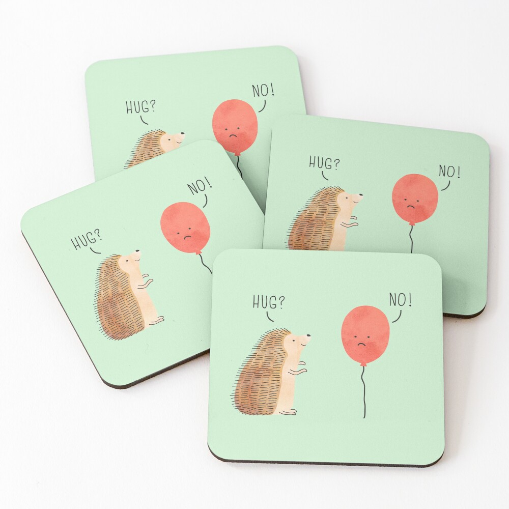 impossible love Coasters (Set of 4)