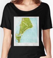 USGS TOPO Map Florida FL Cape Canaveral 345392 1976 24000 Loose Fit T-Shirt