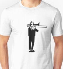 Ska 2 Tone Trombone Walt Jabsco T-Shirt