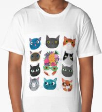 Cuckoo Cats Long T-Shirt