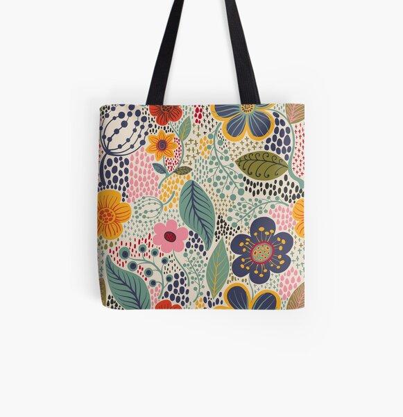 Secret Garden All Over Print Tote Bag