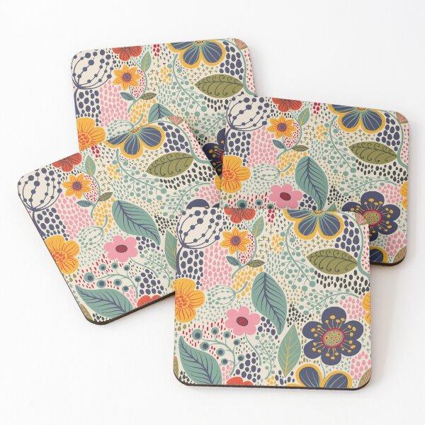 Secret Garden Coasters (Set of 4)