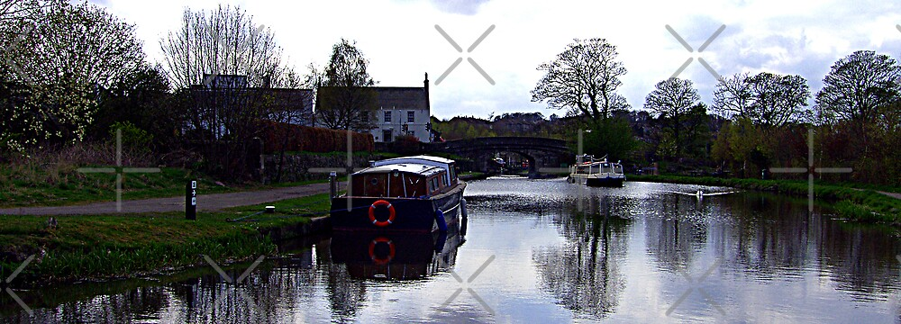 Union Canal at Ratho by Tom Gomez