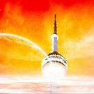 CN Tower-Toronto-Available As Art Prints-Mugs,Cases,Duvets,T Shirts,Stickers,etc by Robert Burns