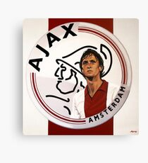 Ajax Amsterdam Painting Canvas Print