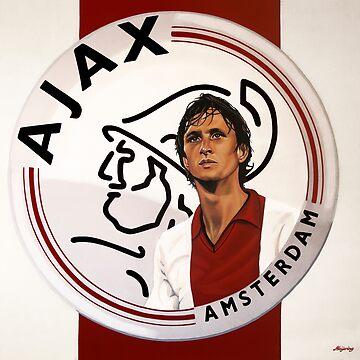 Ajax Amsterdam Painting by PaulMeijering