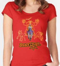 Filmation's Bravestarr Women's Fitted Scoop T-Shirt