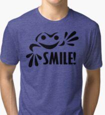 Frog. Smile! Tri-blend T-Shirt